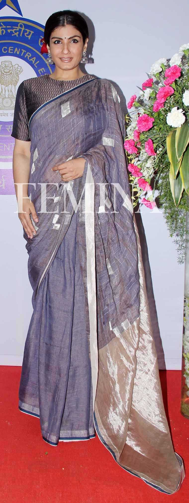 Raveena-Tandon-Central-Excise-Day