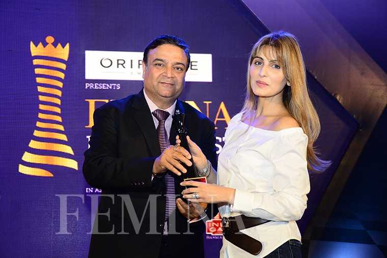 Sunil Kapoor, GM, Marketing, KRBL, with Riddhima Kapoor