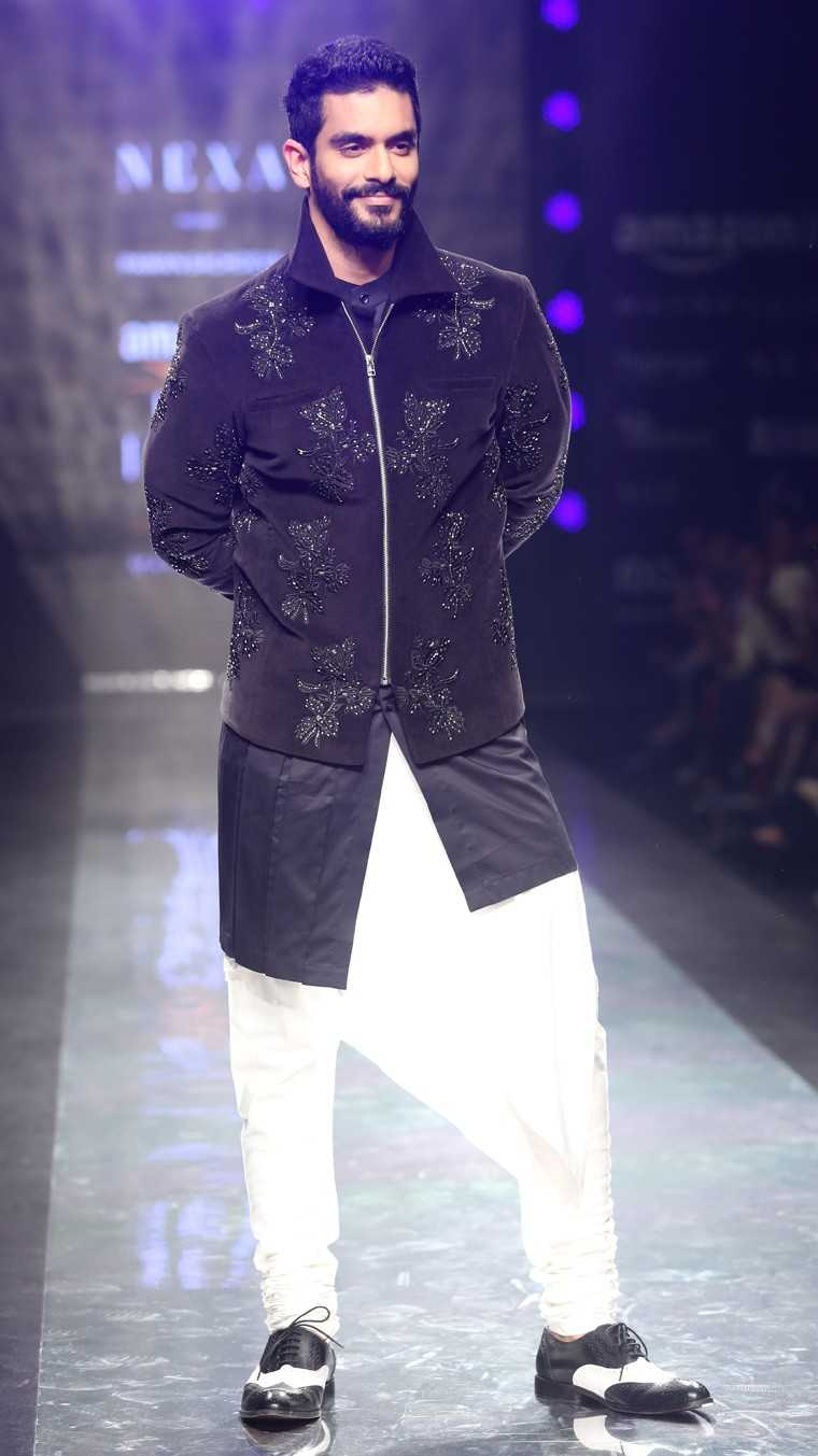 Angad Bedi at AIFW AW17