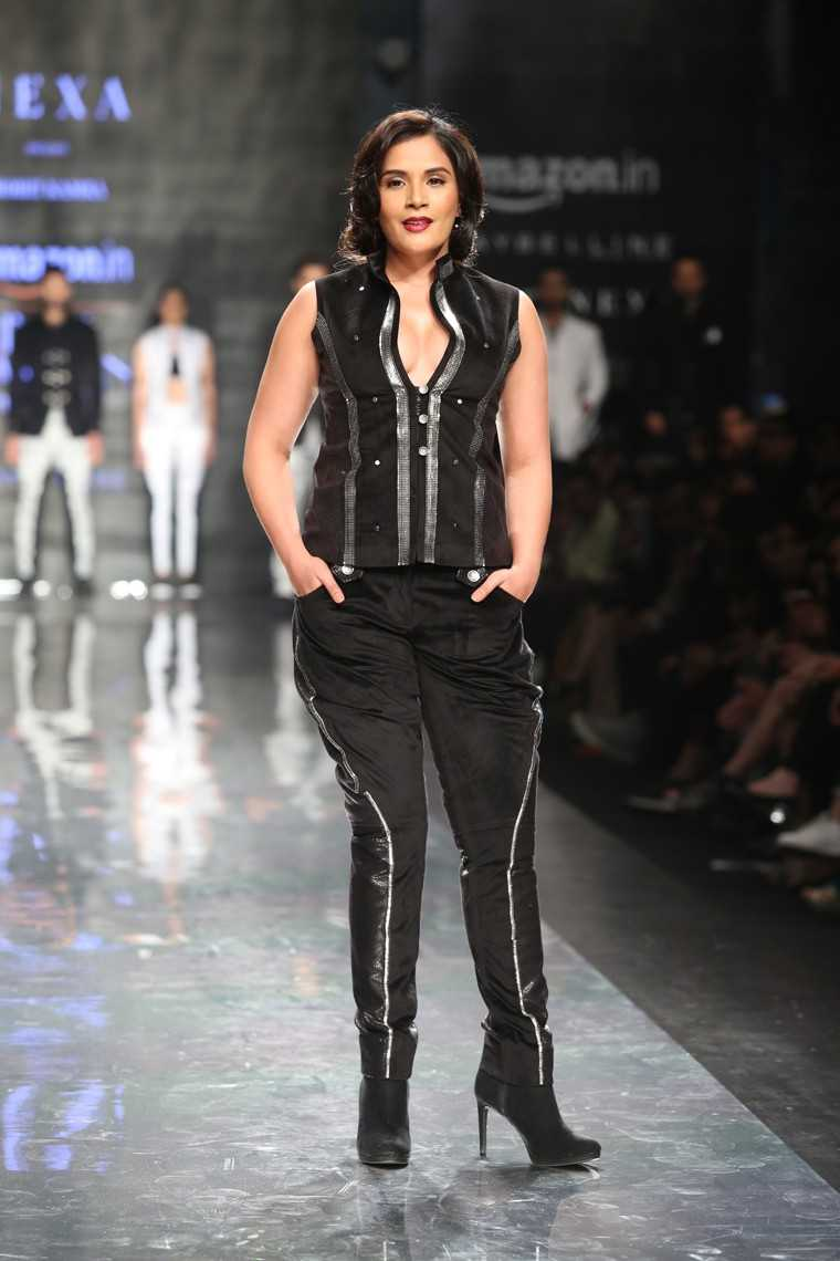 Richa Chadha at AIFW AW17