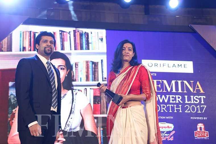 Chitresh Gupta, VP, DS Group, with advocate Karuna Nundy
