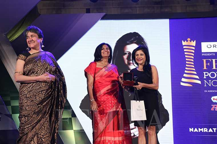 (From left) Ratan Kaul, eco warrior Latika Thukral with designer Namrata Joshipura