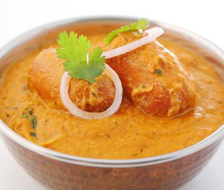 raw banana kofta curry