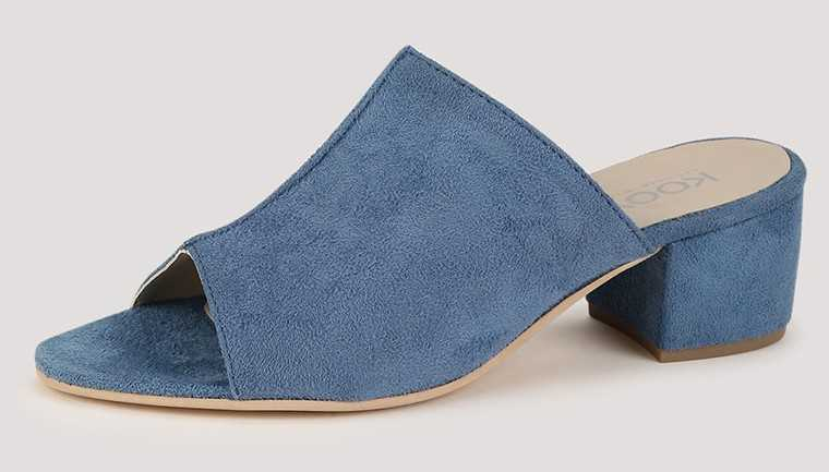 Faux-leather mules Koovs