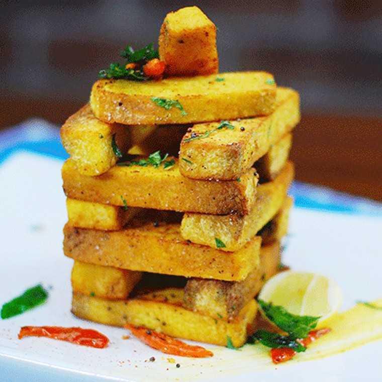 Masala yam fries