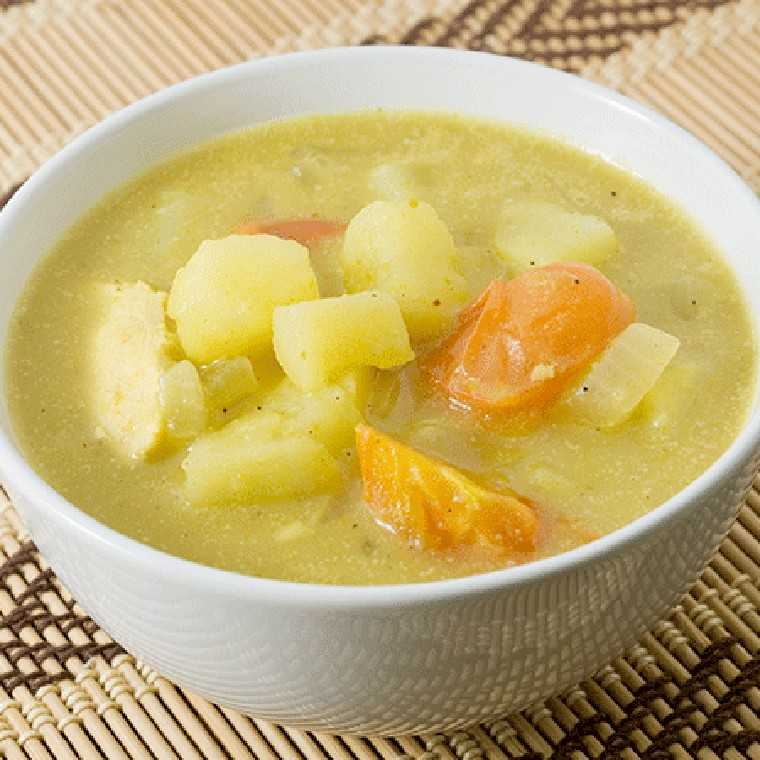 Healthy potato soup