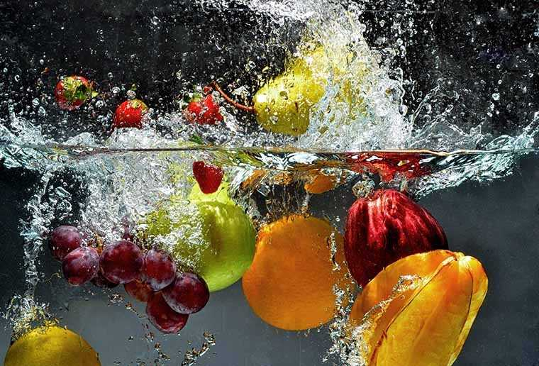 Eat a lot of fruits and drink plenty water