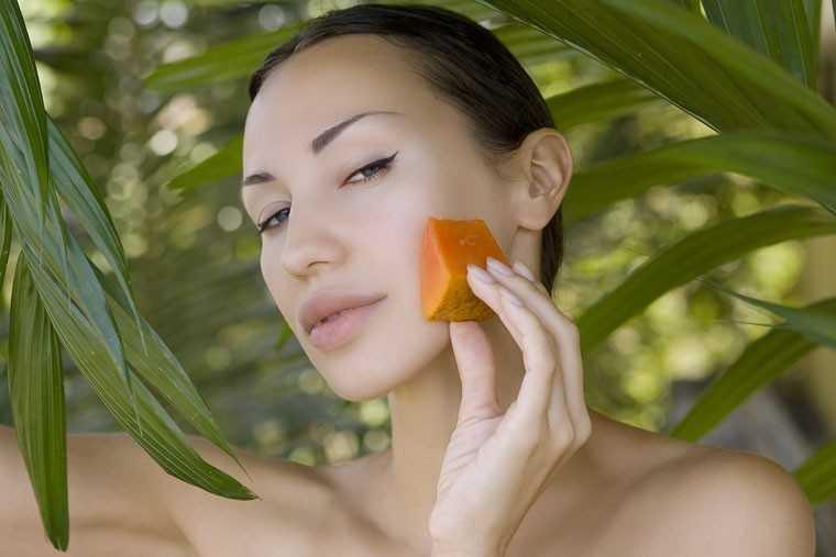 papaya face masks for glowing skin