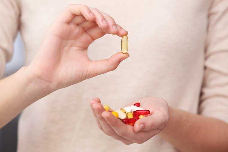 Take the right supplements