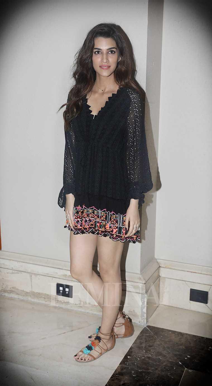 mini dress by Hemant & Nandita Raabta star