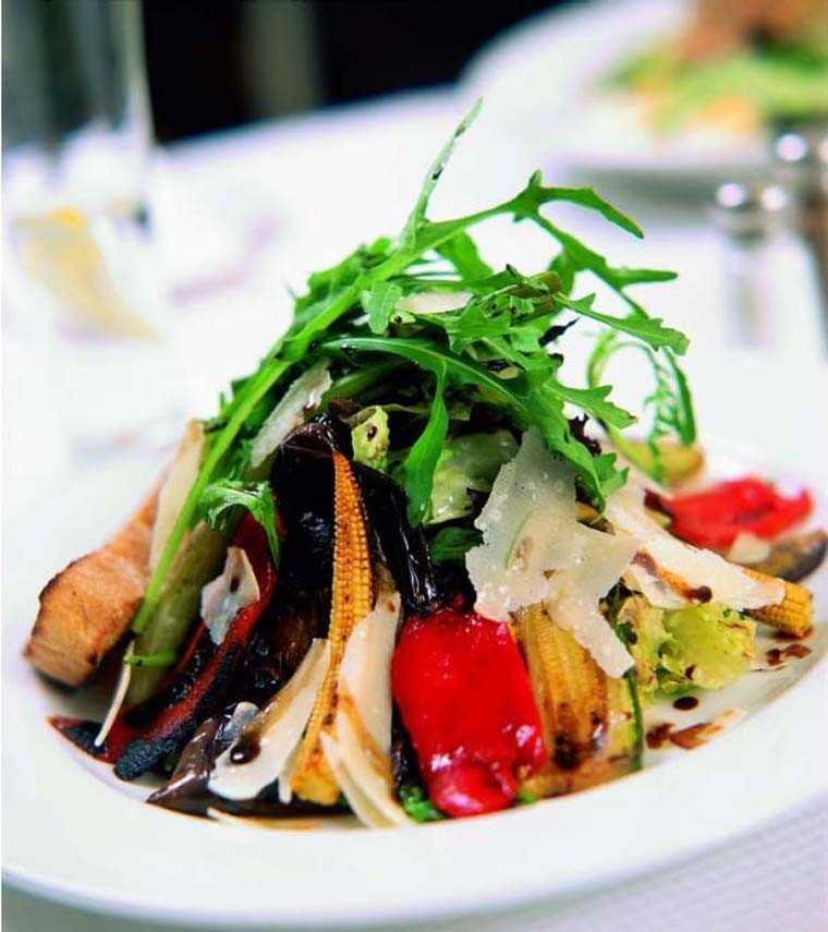 balsamic grilled vegetable salad