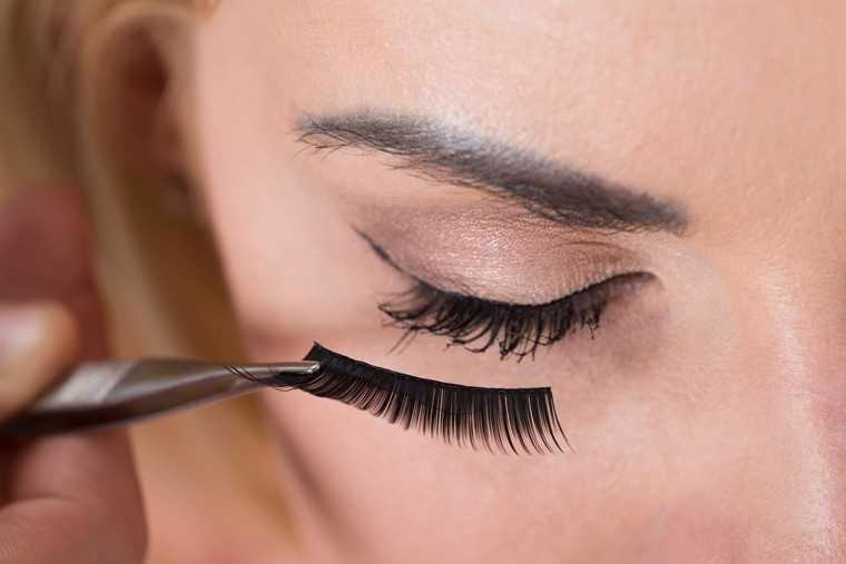 flase eyelashes