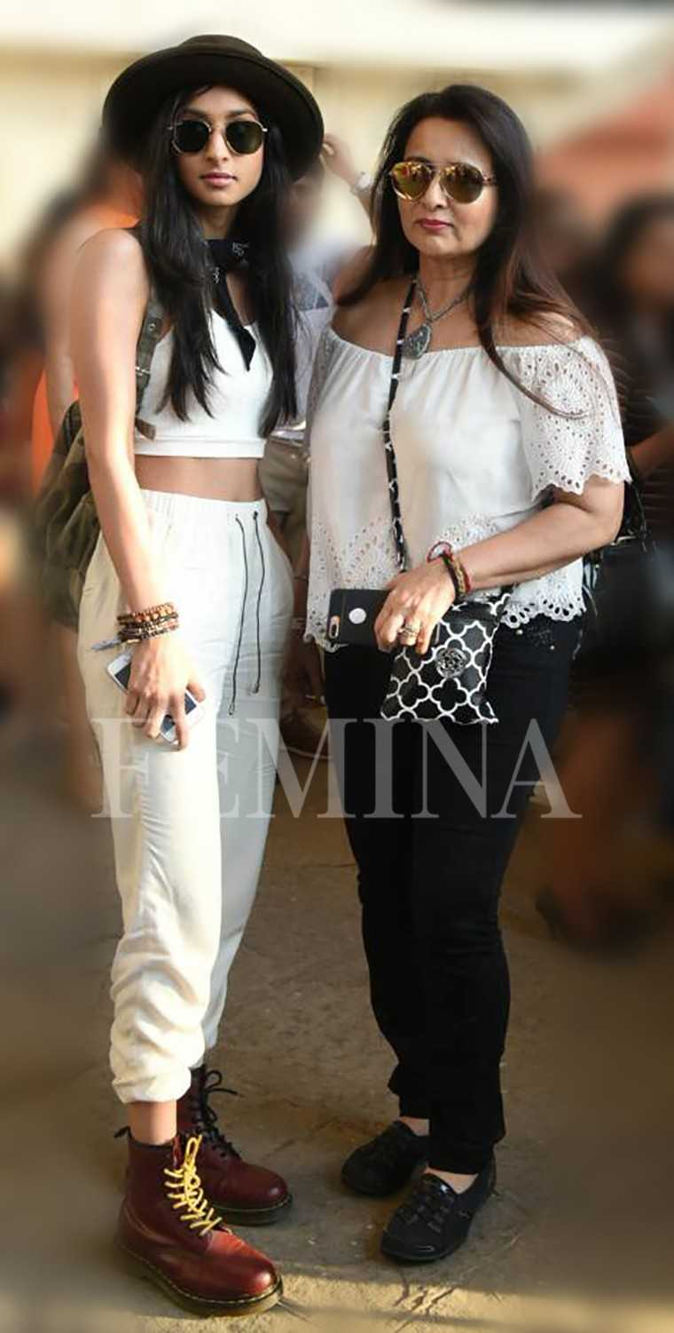 Poonam Dhillon and Paloma