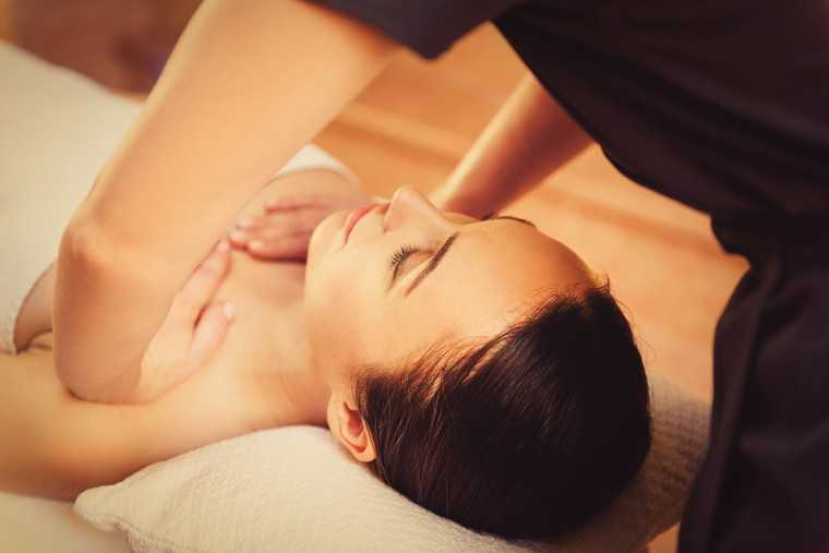 Massage the affected breast