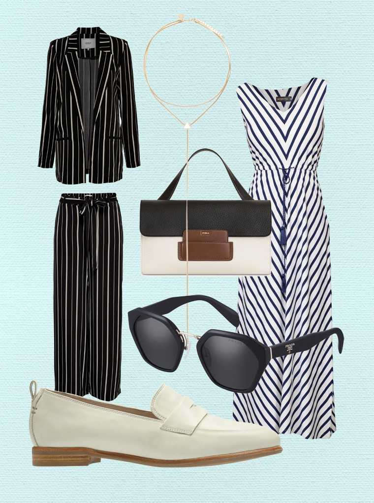 Banker stripes get a fresh do-over this summer