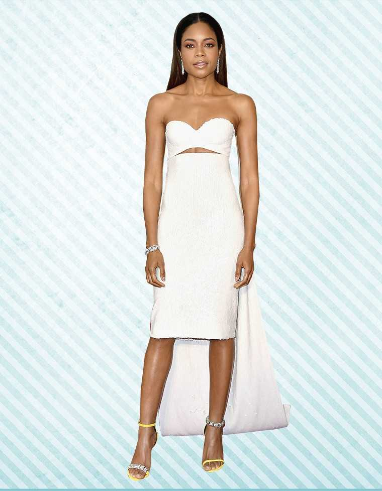 Naomie Harris in Calvin Klein