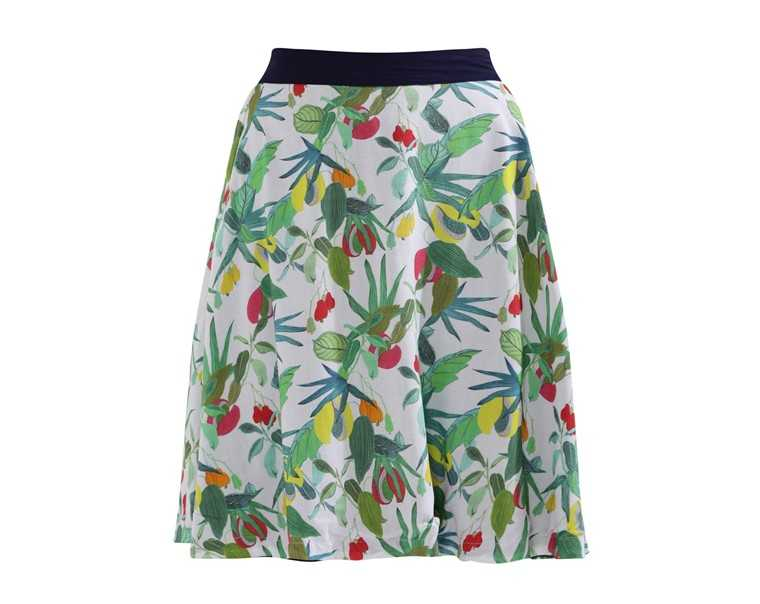Reversible mini skirt