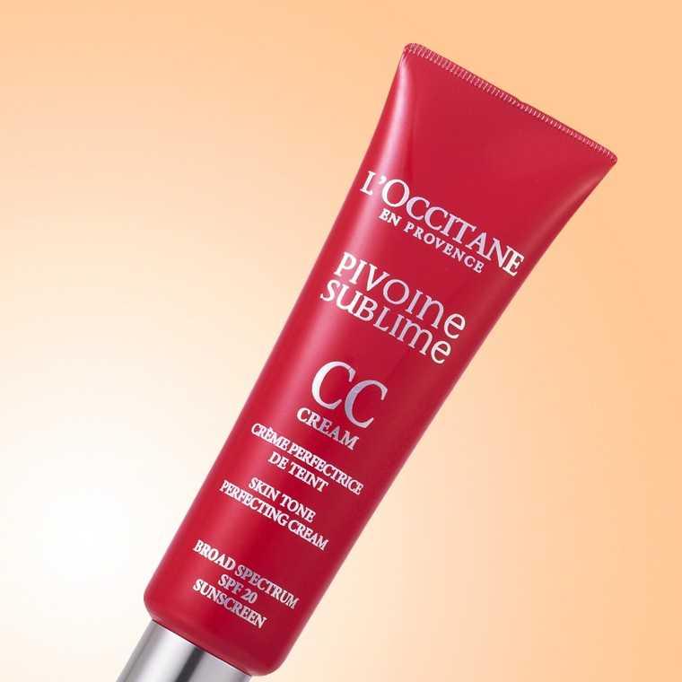 L'Occitane Peony CC Skin Tone Perfecting Cream