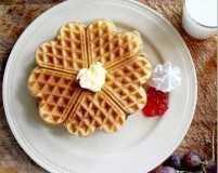Enjoy warm waffles to beat Monday morning blues