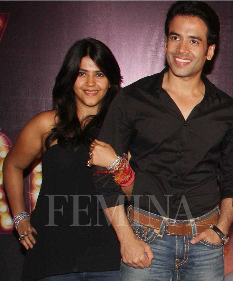 Ekta and Tusshar Kapoor