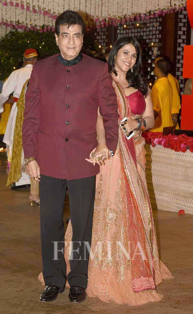 Jeetendra and Ekta Kapoor