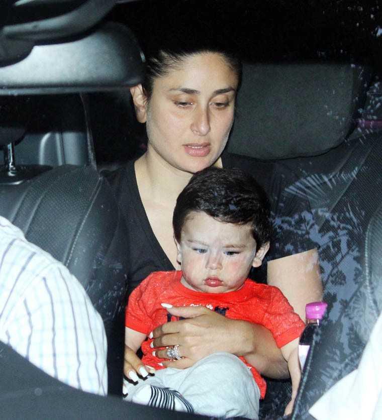 Taimur and Kareena Kapoor