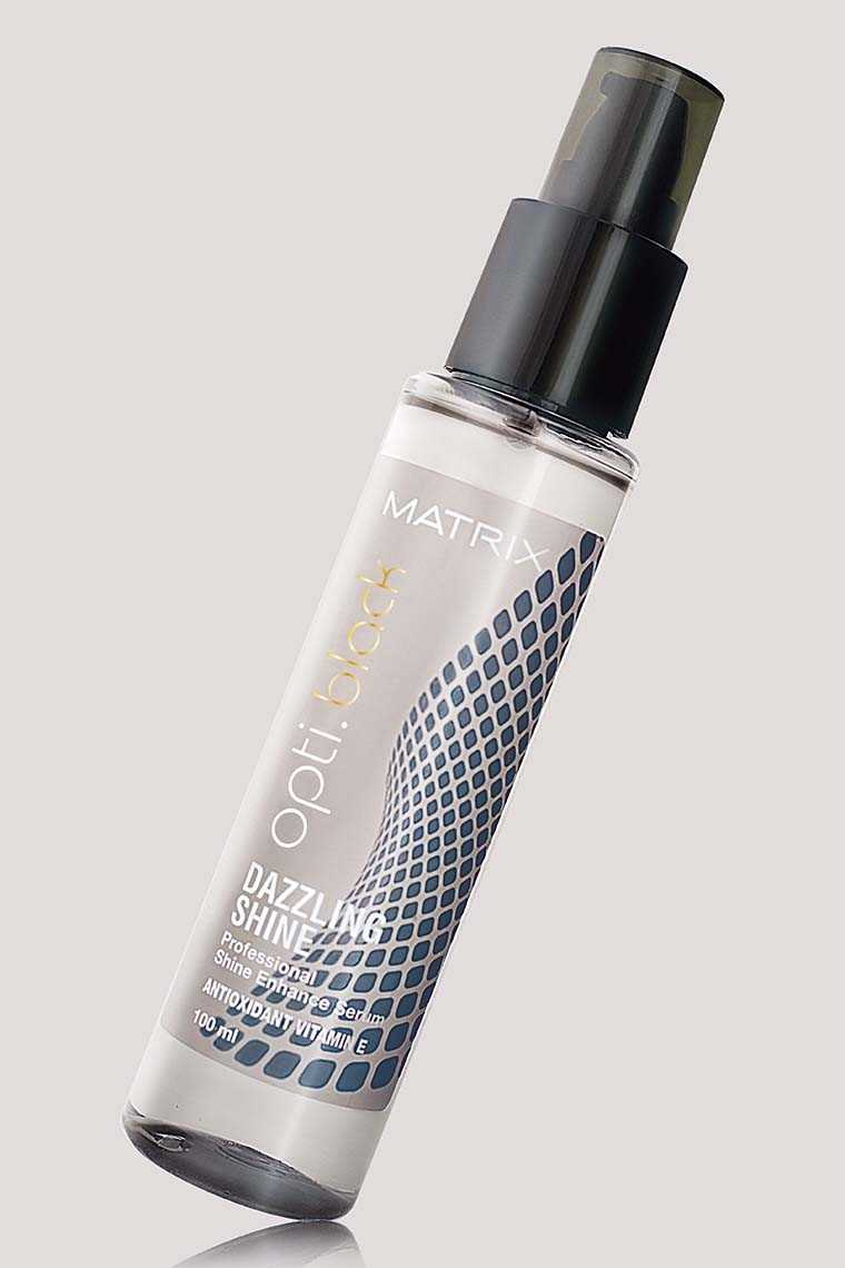 Matrix Opti Black Dazzling Shine Serum  Price: On request