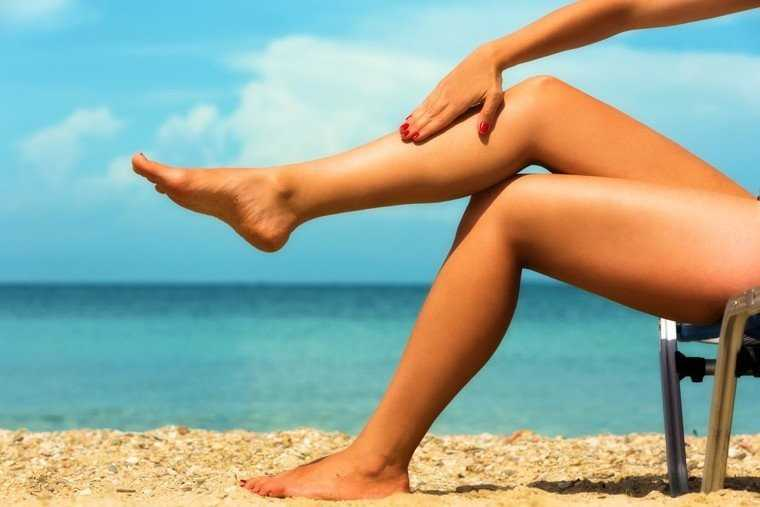 removing tan from feet