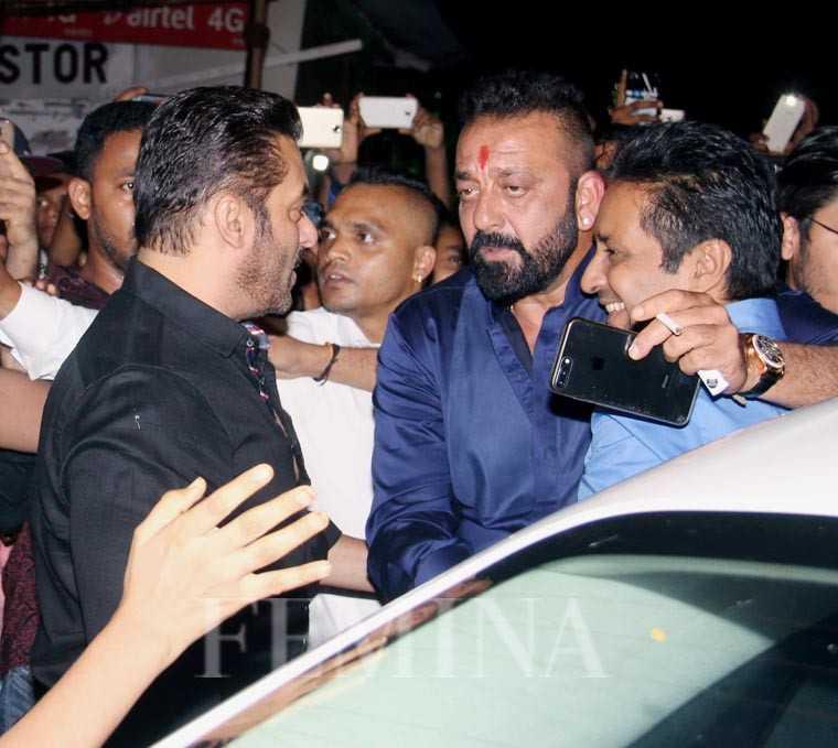Salman Khan, Sanjay Dutt, Sukhvinder Singh