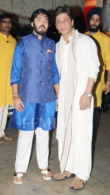 Shah Rukh Khan, Anant Ambani