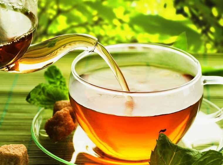 Tea rinse