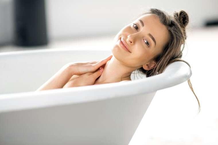 Form a bath ritual