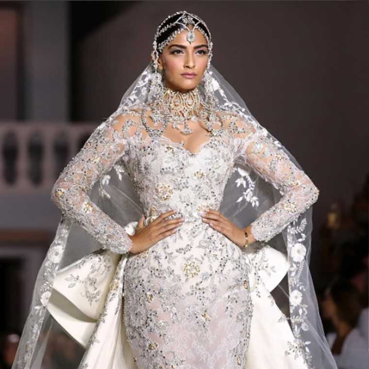 Sonam Kapoor showstopper for Ralph & Russo