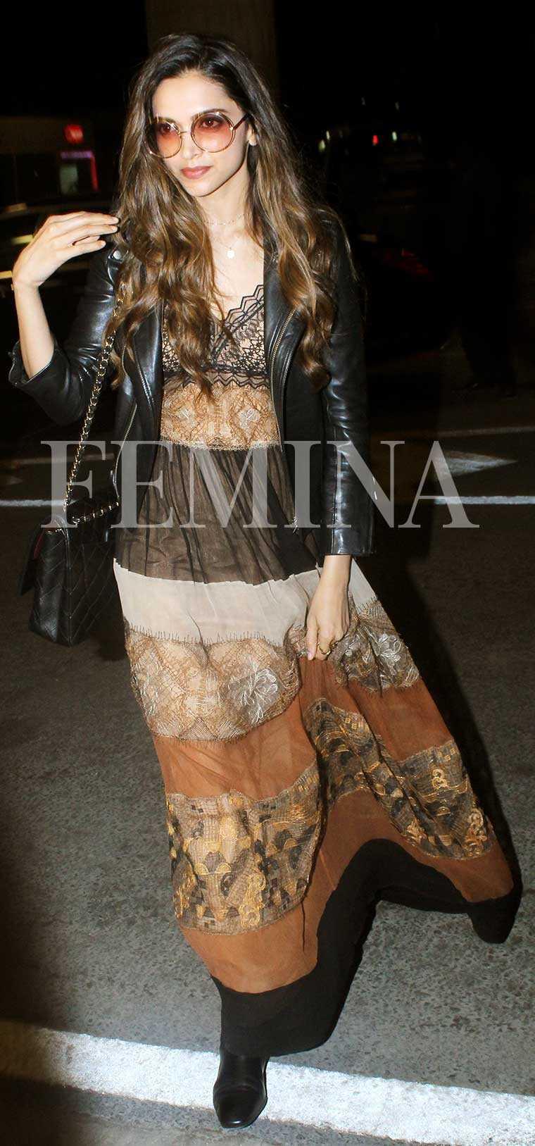 Deepika Padukone Rules Airport Style Femina In