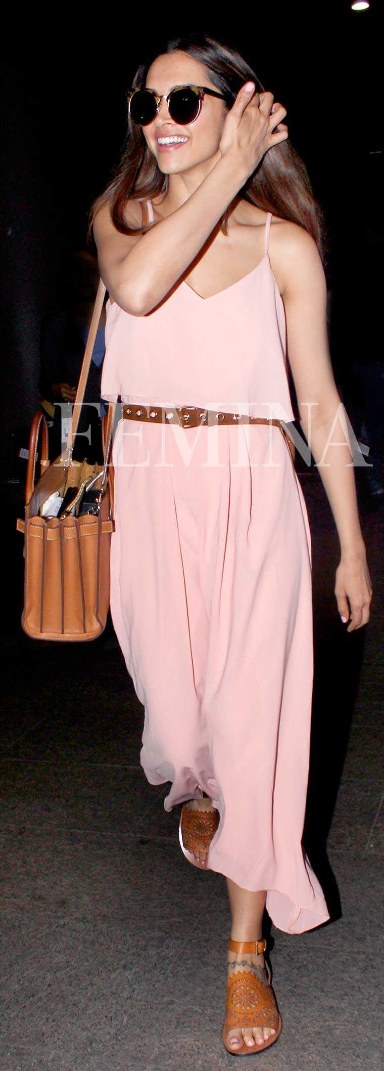 Deepika Padukone peach All About You dress