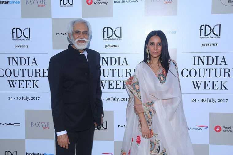Anamika Khanna & Sunil Sethi