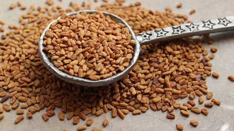Fenugreek seeds rinse