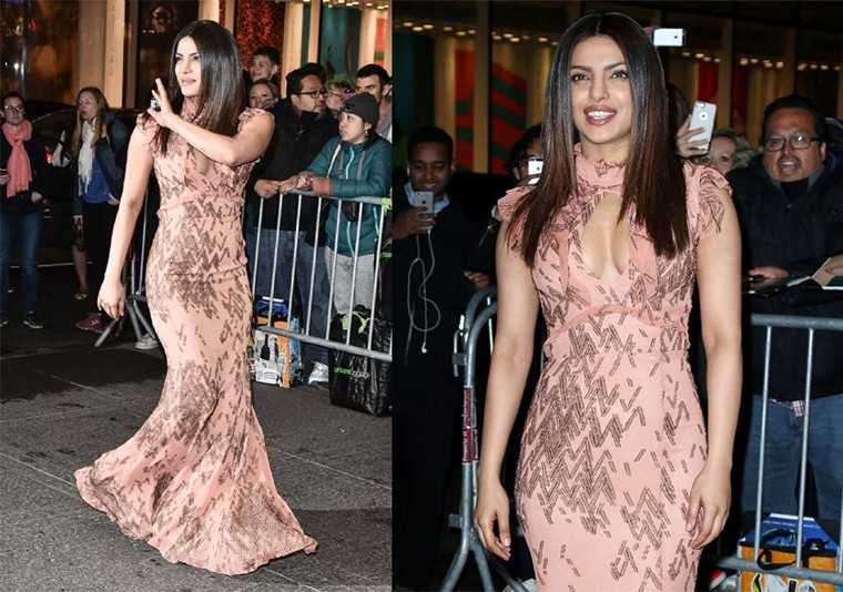 Peecee picked an embellished J Mendel gown