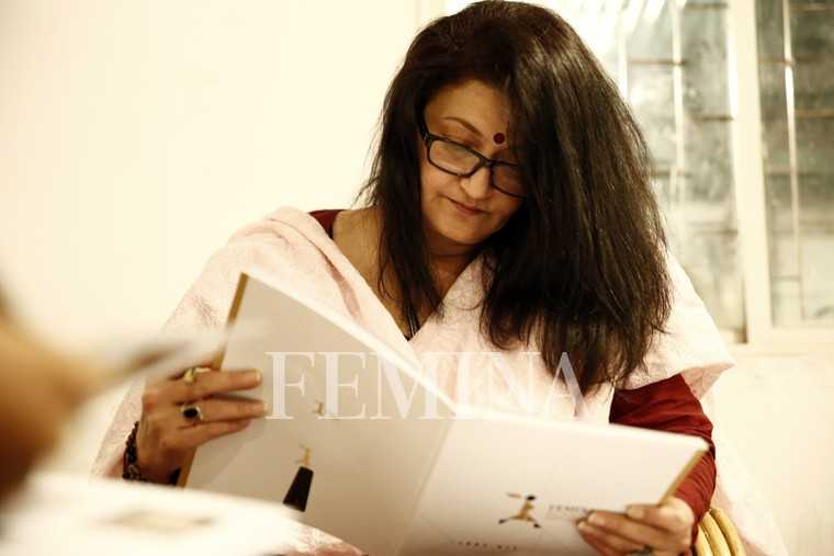 Sarika studies each nominee closely