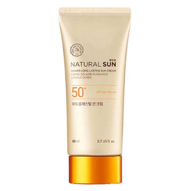 The Face Shop Natural Sun Eco Power Long-Lasting Sun Cream SPF 50+ PA+++