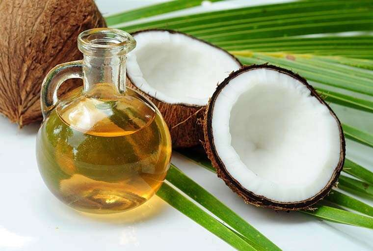 Coconut or olive oil