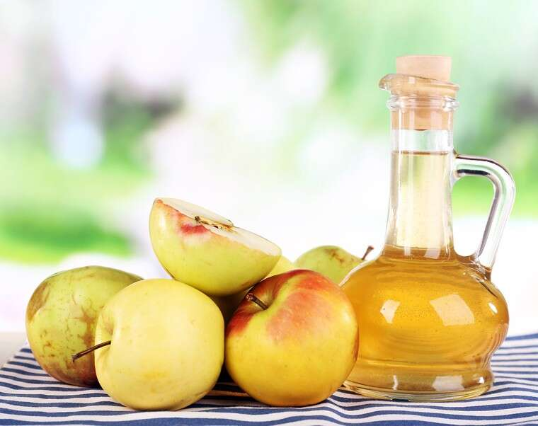 Apple cider vinegar (ACV) to the rescue