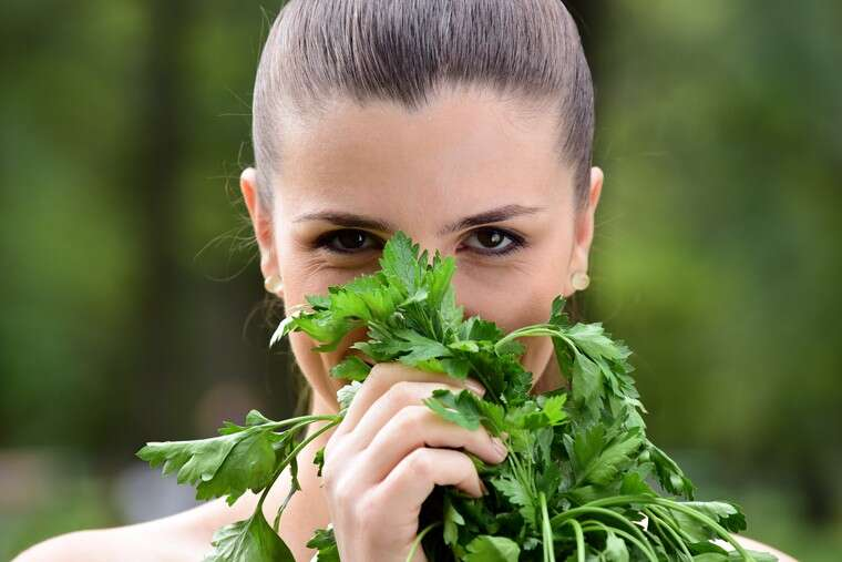 Embrace the goodness of parsley