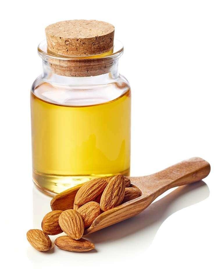 Aloe vera and almond oil