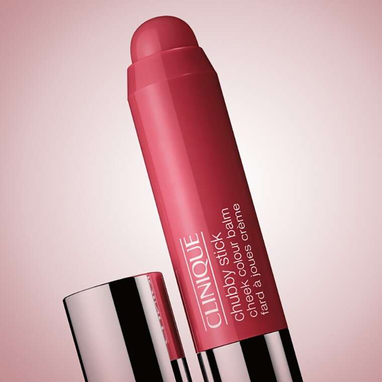 Clinique Chubby Stick Cheek Colour Balm in Roly Poly Rosy
