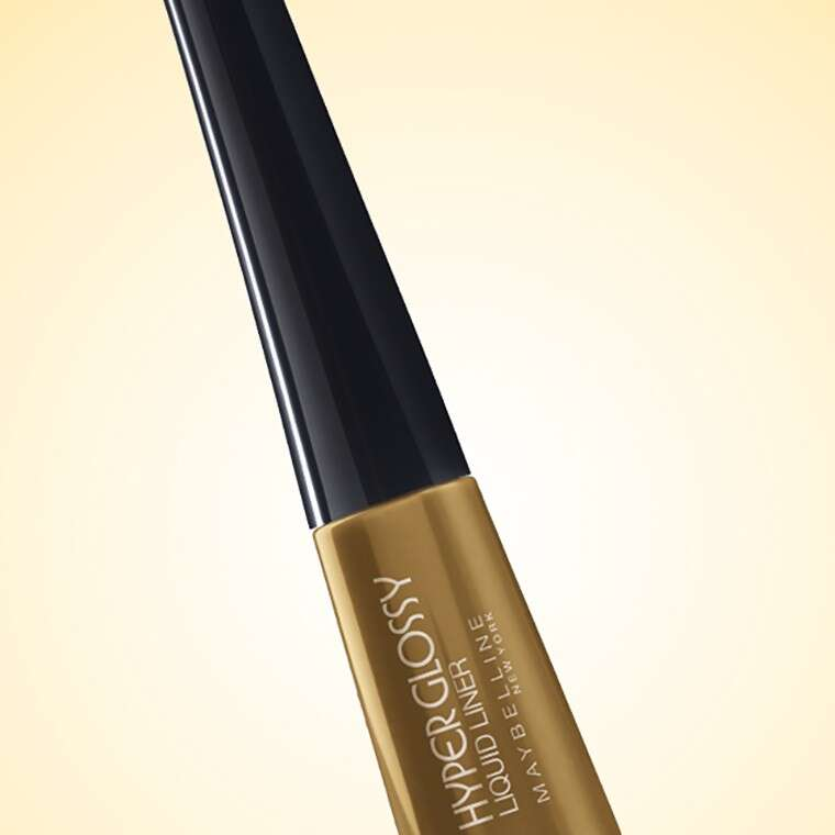 Maybelline New York Hyper Glossy Eye Liner in Goldiation