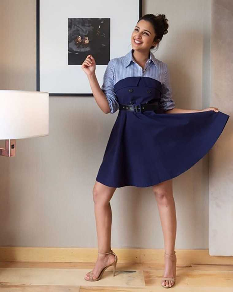 Parineeti Chopra layering in this Madison outfit