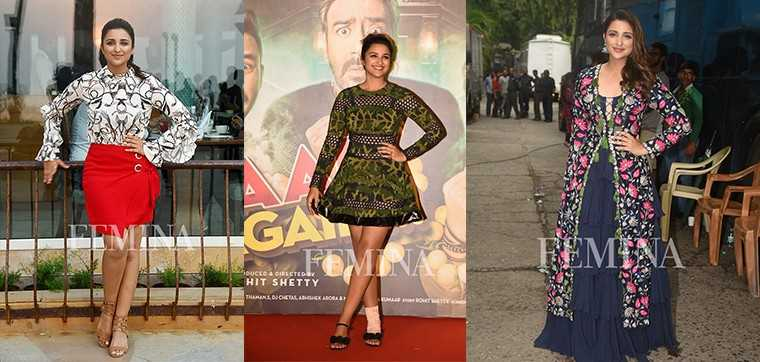 Parineeti Chopra winning looks
