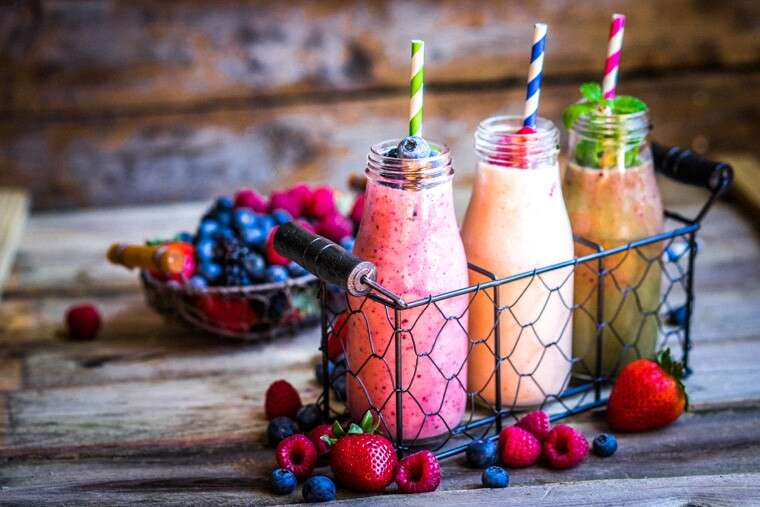 Whip up yummy smoothies