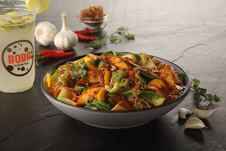 Assorted vegetables with paneer